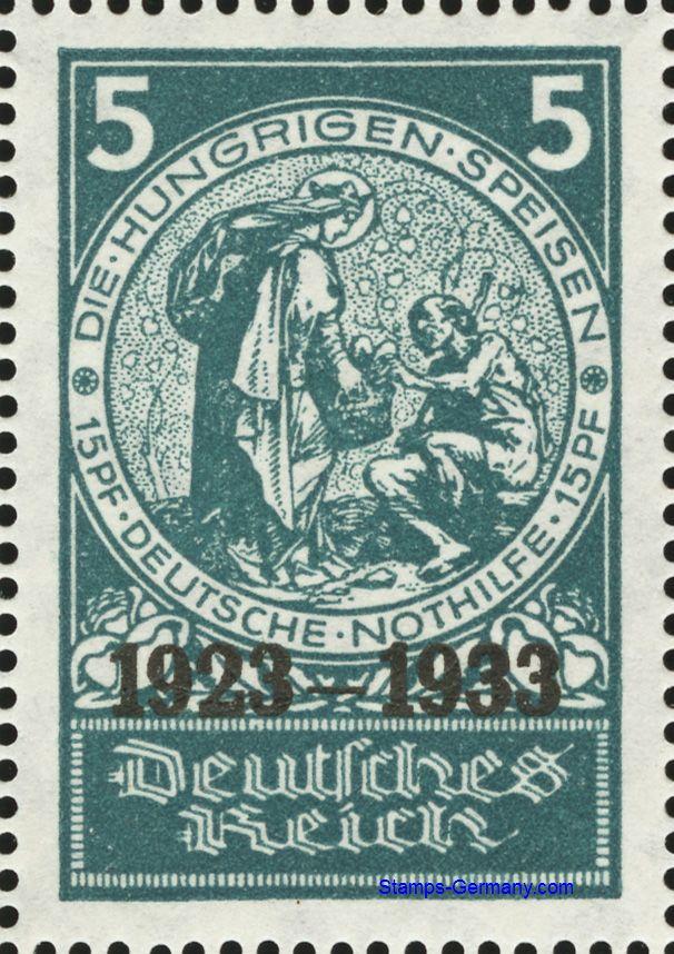 Briefmarke Deutsches Reich Michel 508 10000 Stamps Germanycom
